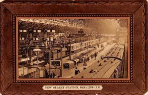 Birmingham, New Street Station, Trains, Railway, Railroad, Warwickshire