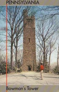 Pennsylvania Bucks County Bowman's Tower Washington Crossing Historic Park