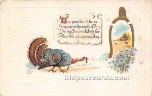 Thanksgiving Greetings 1911