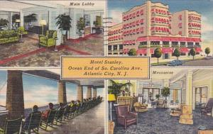 Hotel Stanley Ocean End Of South Carolina Avenue Atlantic City New Jersey 1951