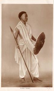 br104332 somali gaurd africa somalia costume types