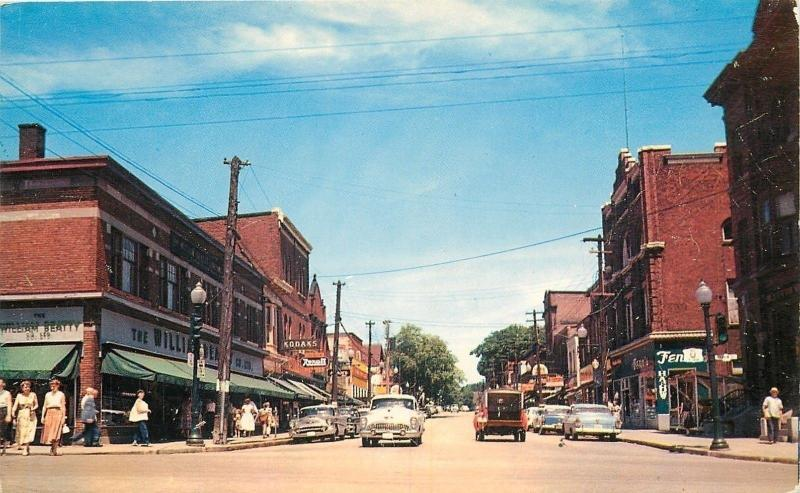 Parry Sound Ontario~Kodaks~William Beatty Department Store~Nice 1950s Cars