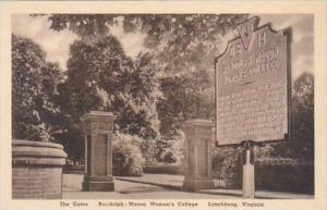 Virginia Lynchburg The GatesRandolph Macon Womans College Albertype