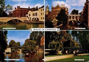 England Cambridge Multi View Bridges Of Cambridge