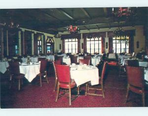 Unused Pre-1980 RESTAURANT SCENE St. Clair Michigan MI B8338