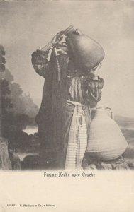 Femme rabe avec Cruche, Egypt , 1901-07