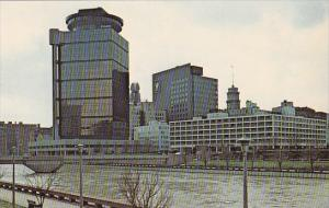 New York Rochester Across The River From First Federal Plaza And The American...