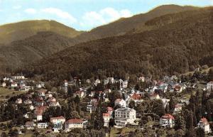 Thermalkurort Badenweiler im suedlichen Schwarzwald Gesamtansicht