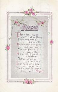 Good Luck From Cramborne Dorset 1918 WW1 Songcard Postcard