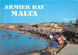 Malta Armier Bay, Popular Sandy Beach