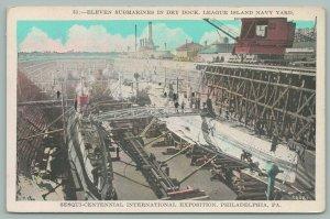 Philadelphia Pennsylvania~Sesqui Centennial Exposition~League Island~Navy Yard
