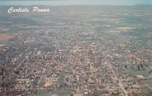 CARLISLE , Pennsylvania , 40-60s ; Aerial View