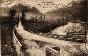 CPA Route de Pierrefitte a GAVARNIE - Le Cave et le Pont de Pescadére (110251)