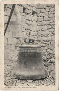 France Guerre 1914 15 Sommesous Les cloches 01.29