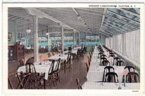 Gregory's Restaurant, Clayton NY