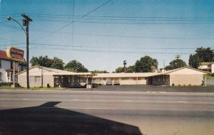 POINT ROYAL, Virginia, 40-60s; Mid-Town Motel, U.S. Routes 340 and 522 & Stat...