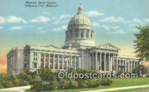 Jefferson City, Missouri , MO State Capital, Capitals Postcard Post Card USA ...