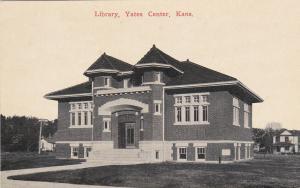 YATES CENTER, Kansas, 1900-10s; Library