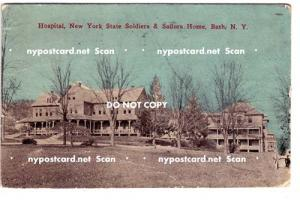 Hospital, Soldiers & Sailors Home, Bath NY