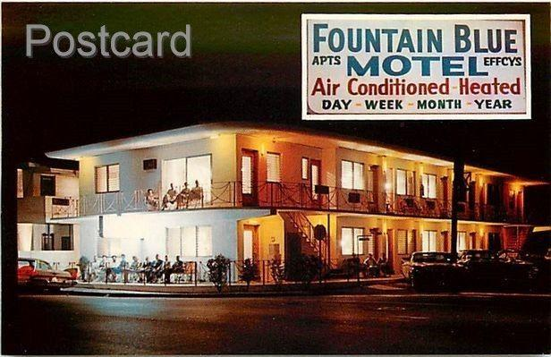 FL, Miami Beach, Florida, Fountain Blue Motel, Gilbert & Association No. 20729-B