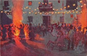 Spain La verbena de San Juan: M. Bertuchi, Fiesta de San Juan