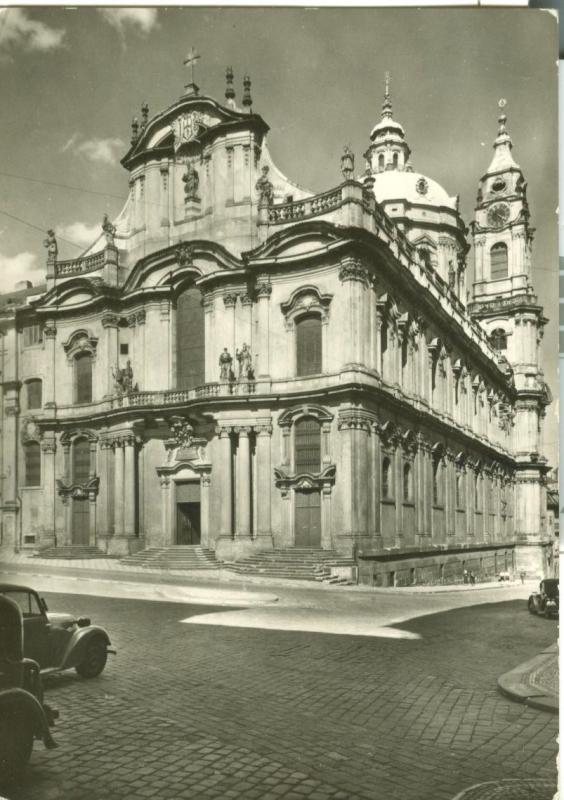 Czech Republic, Prague, Praha The Mala Strana Quarter-Church
