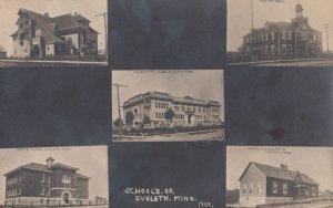 RP: ELELETH , Minnesota , 1910 ; 5 Schools