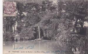 France Troyes Jardin du Rocher La Piece d'Eau 1906