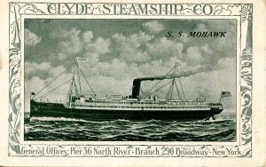 Clyde Steamship Company - SS Mohawk