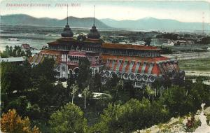 Vintage Postcard; Broadwater Natatorium, Helena, MT circa 1907