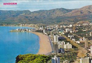 Spain Benidorm Vista Panorama de Benidorm