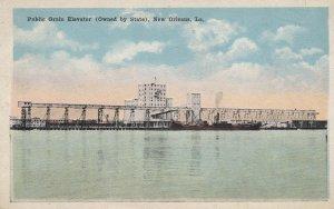New Orleans , Louisiana , 00-10s ; Public Grain Elevator