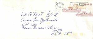 Entier Postal Stationery Postal Canadian Charter Boat