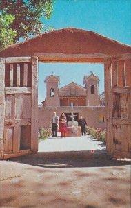 View Of The Famous El Santuario De Chimayo New Mexico