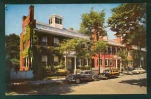 Starbuck Houses Upper Main Street Nantucket Massachusetts Home MA Postcard