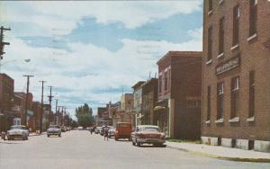 St. Antoine Street, La Tuque, Quebec, Canada, PU-1963