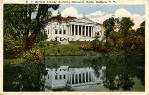 NY - Buffalo. Delaware Park, Historical Society Building