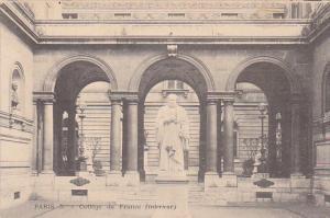 College De France, Paris, France, 1900-1910s