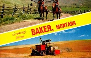 Montana Greetings From Baker