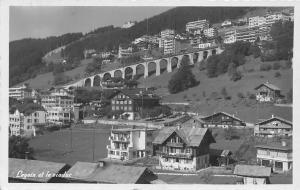 Switzerland Leysin et le Viaduc Panorama Pont General view