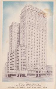 Hotel Adelphia, PHILADELPHIA, Pennsylvania, 1930-1940s