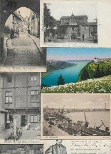 France - Mortagne Caux Bordeaux Lourdes And More Lot of 18 HIGH QUALITY! 01.04