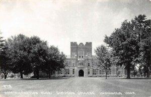 LP76 Indianola Iowa Postcard RPPC Simpson College