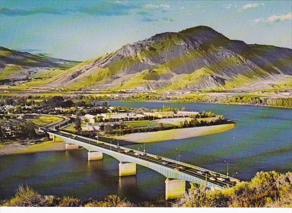 Canada British Columbia North Kamloops Overlanders Bridge