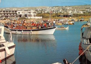 Cyprus Ayia Napa The harbour and the village Der Hafen und das Dorf