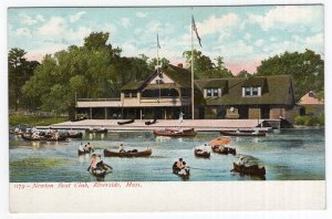 Riverside, Mass, Newton Boat Club
