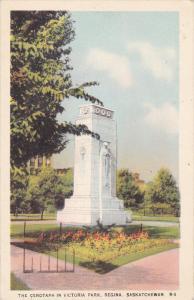 Cenotaph in Victoria Park , REGINA , Saskatchewan , canada , 20-40s