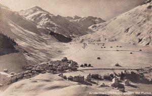RP: Andermatt , Uri , Switzerland , 1910s