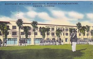 Florida Venice The Kentucky Military Institute Winter Headquarters 1955
