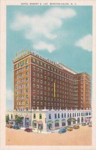 North Carolina Winston Salem Hotel Robert E Lee